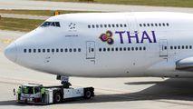 Thai Boeing 747 visited Zurich title=