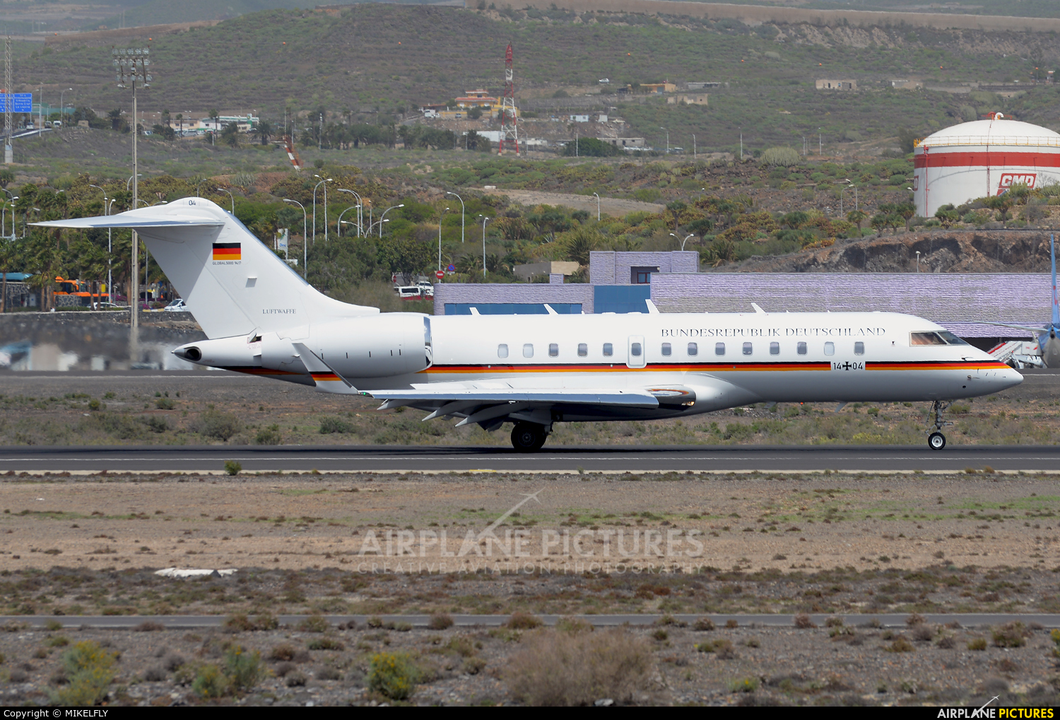 Germany - Air Force 14+04 aircraft at Tenerife Sur - Reina Sofia