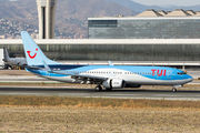 OO-JAQ - TUI Airlines Belgium Boeing 737-800 aircraft