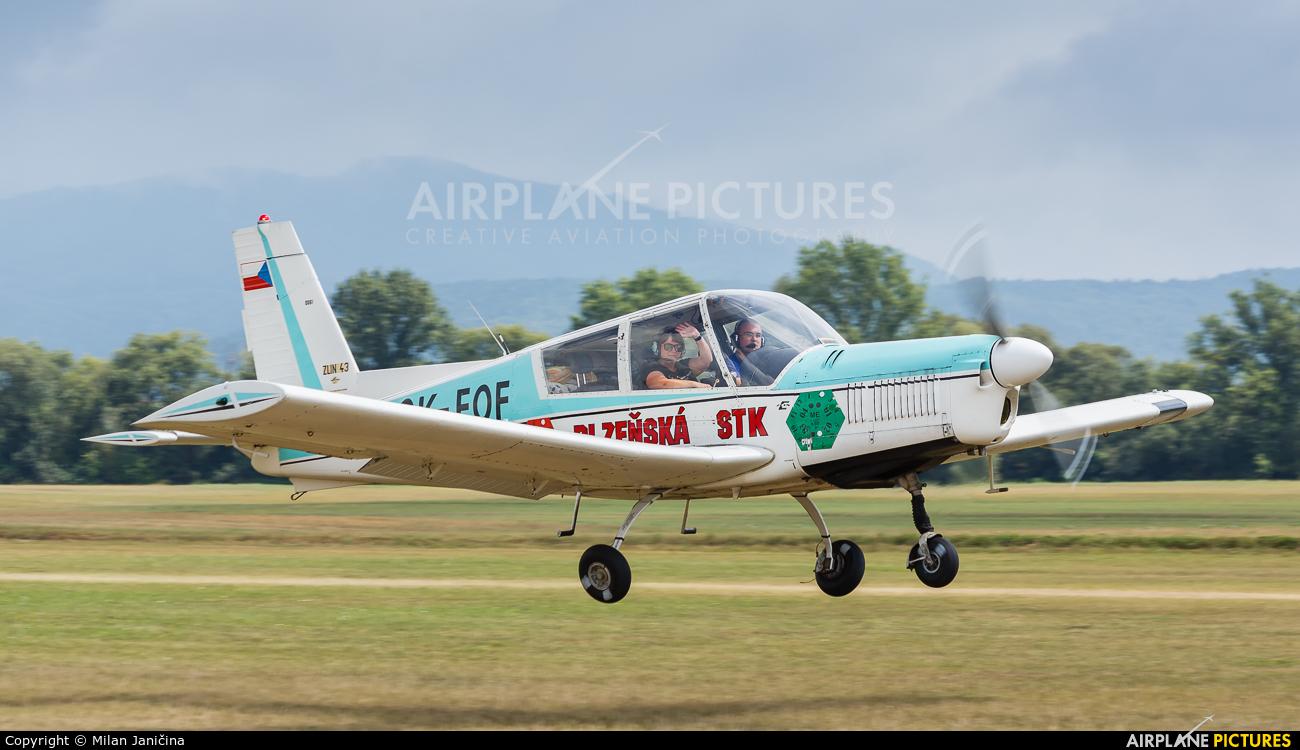 Private OK-FOF aircraft at Dubnica nad Vahom - Slavnica