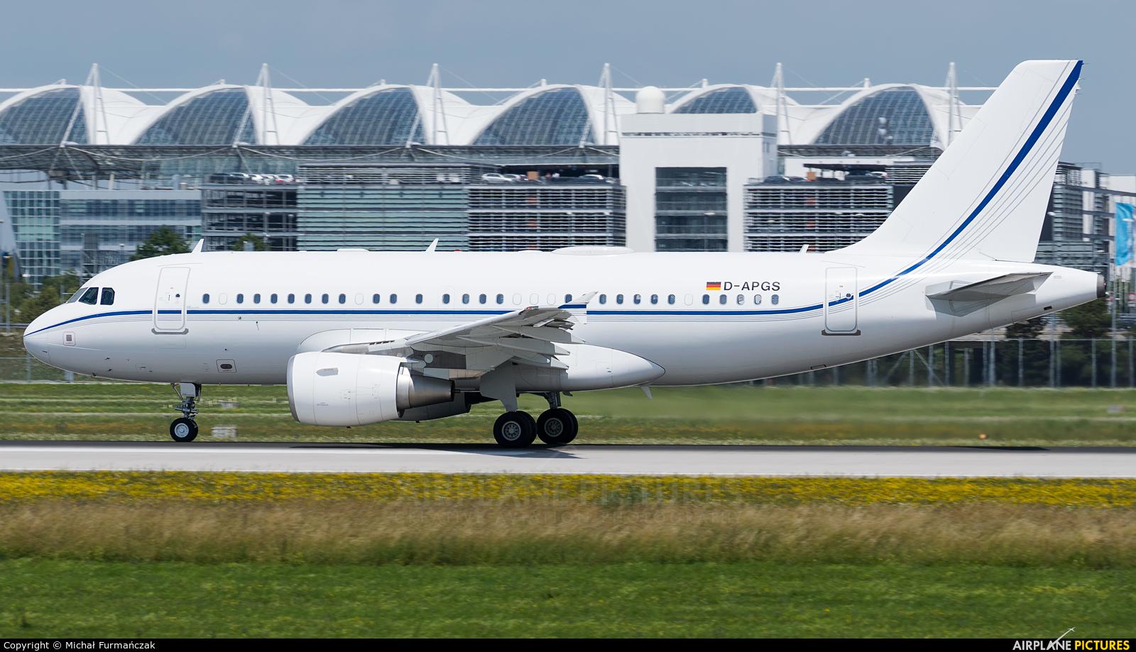 K5 Aviation D-APGS aircraft at Munich