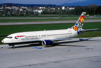 G-DOCF - British Airways Boeing 737-400