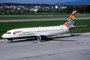 G-DOCF - British Airways Boeing 737-400