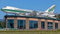 N481EV - Evergreen International Boeing 747-100F aircraft