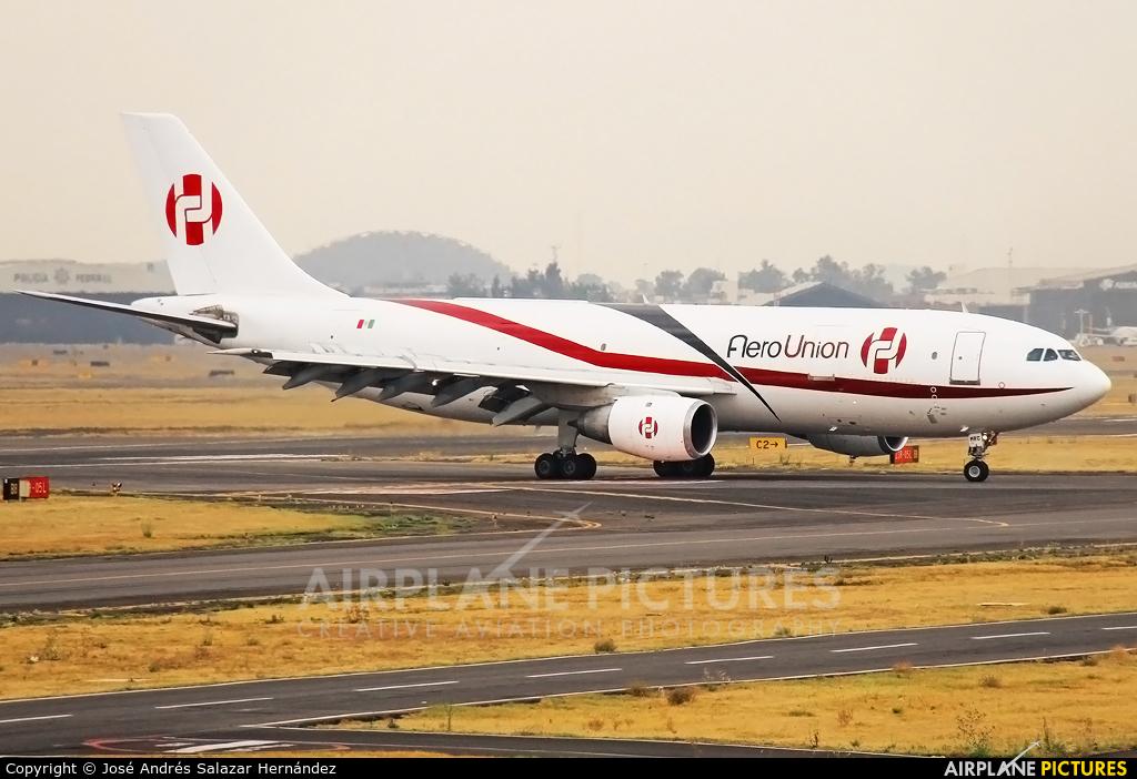 Aero Union XA-MRC aircraft at Mexico City - Licenciado Benito Juarez Intl