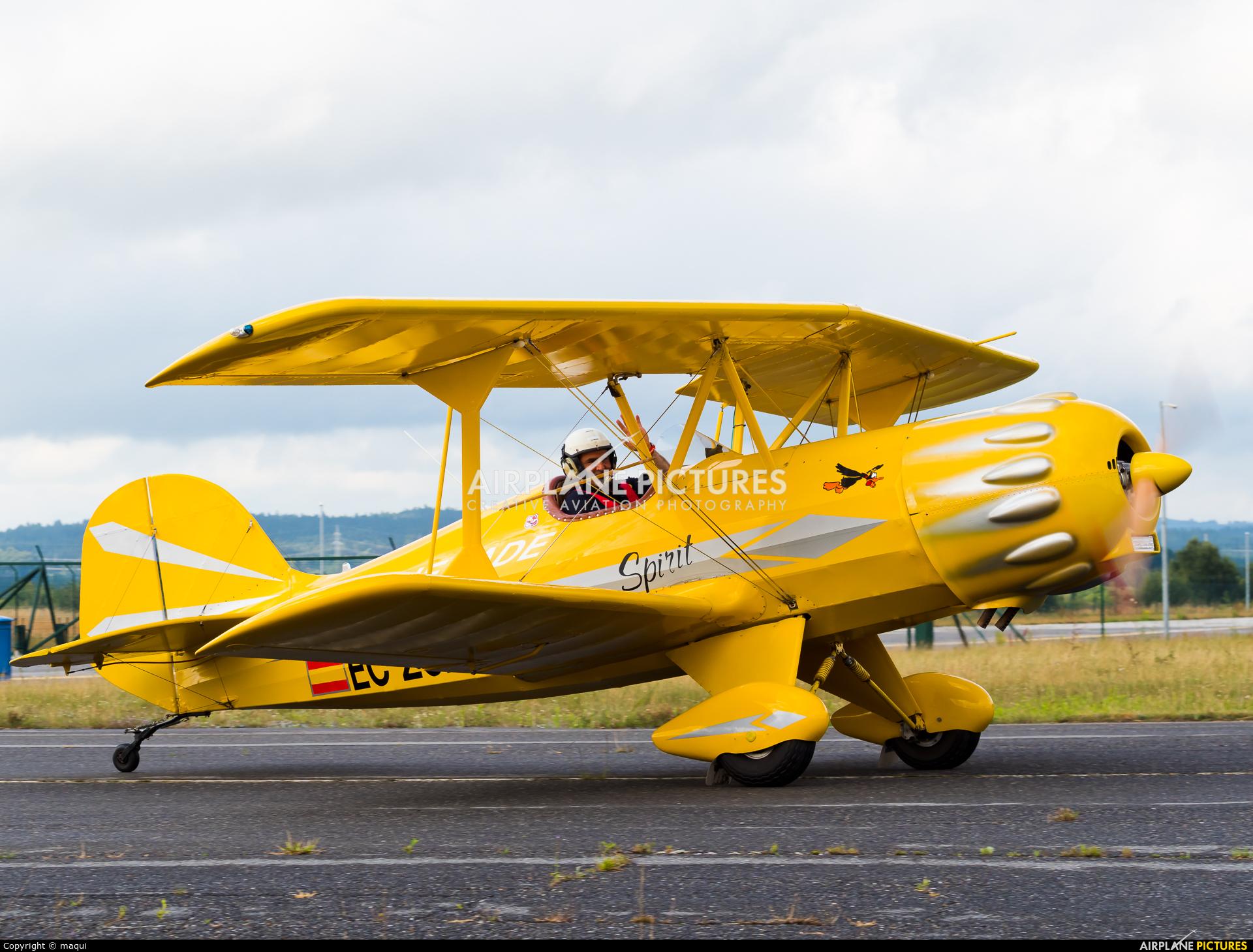 Private EC-ZCP aircraft at Lugo - Rozas