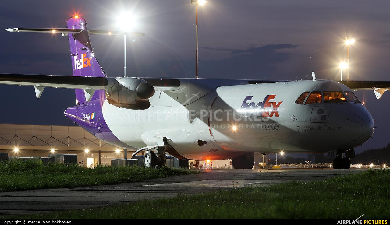 FedEx Feeder EI-FXH aircraft at Katowice - Pyrzowice
