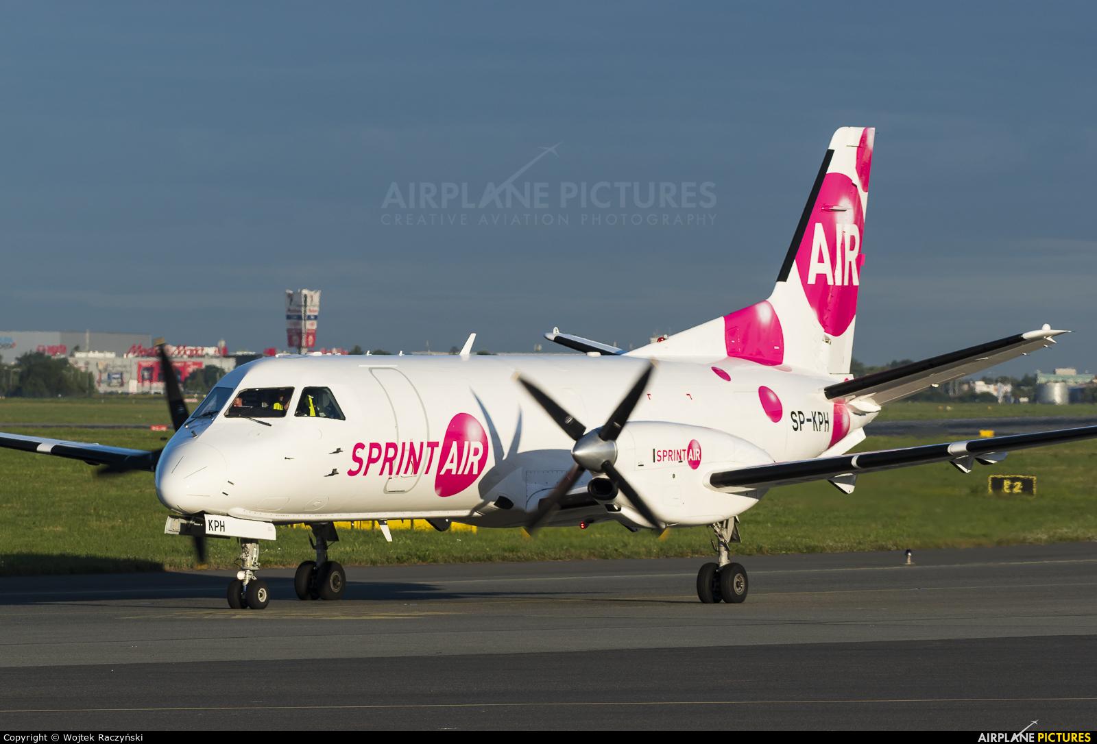 Sprint Air SP-KPH aircraft at Warsaw - Frederic Chopin