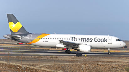 YL-LCS - Thomas Cook Airbus A320