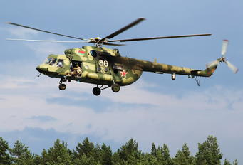 86 - Belarus - Air Force Mil Mi-8MTV-5