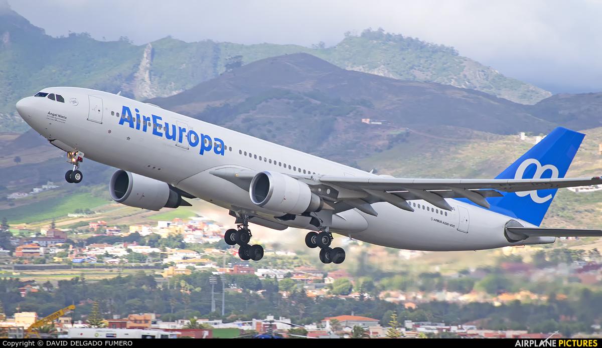 Air Europa EC-JQG aircraft at Tenerife Norte - Los Rodeos