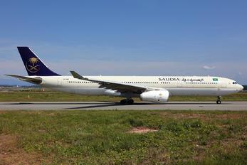 HZ-AQK - Saudi Arabian Airlines Airbus A330-300