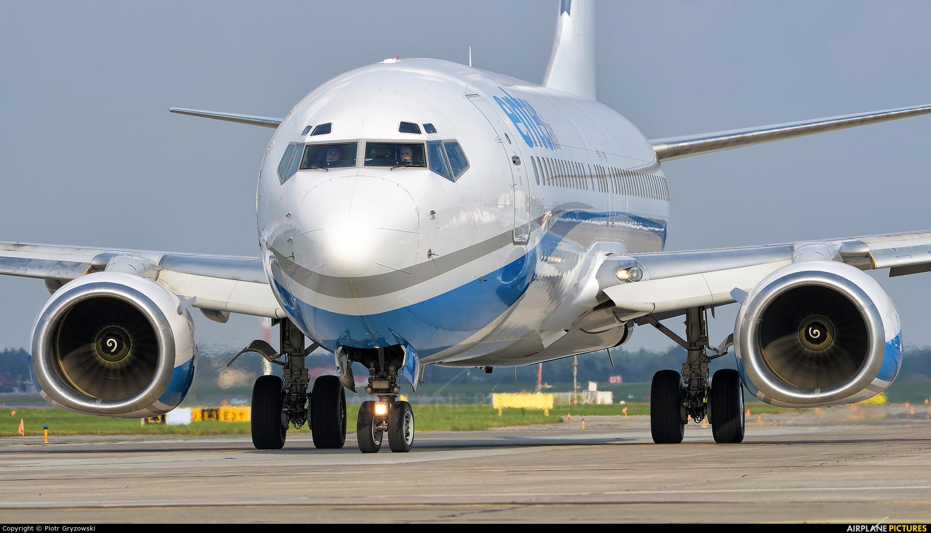 Enter Air SP-ENL aircraft at Katowice - Pyrzowice