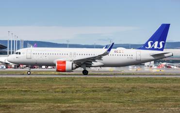 EI-SIA - SAS - Scandinavian Airlines Airbus A320 NEO