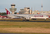 #2 Qatar Airways Boeing 777-300ER A7-BAZ taken by DK