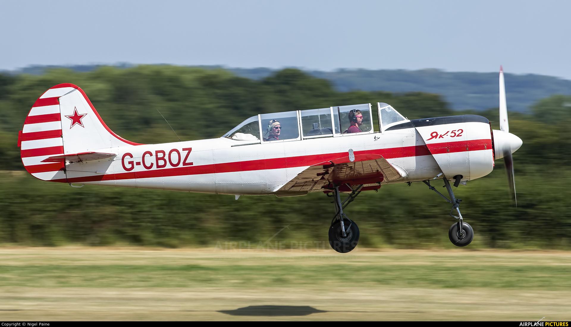 Private G-CBOZ aircraft at Lashenden / Headcorn