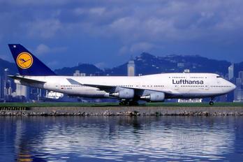 D-ABVA - Lufthansa Boeing 747-400