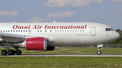 N207AX - Omni Air International Boeing 767-200ER