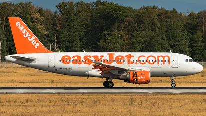 G-EZBE - easyJet Airbus A319