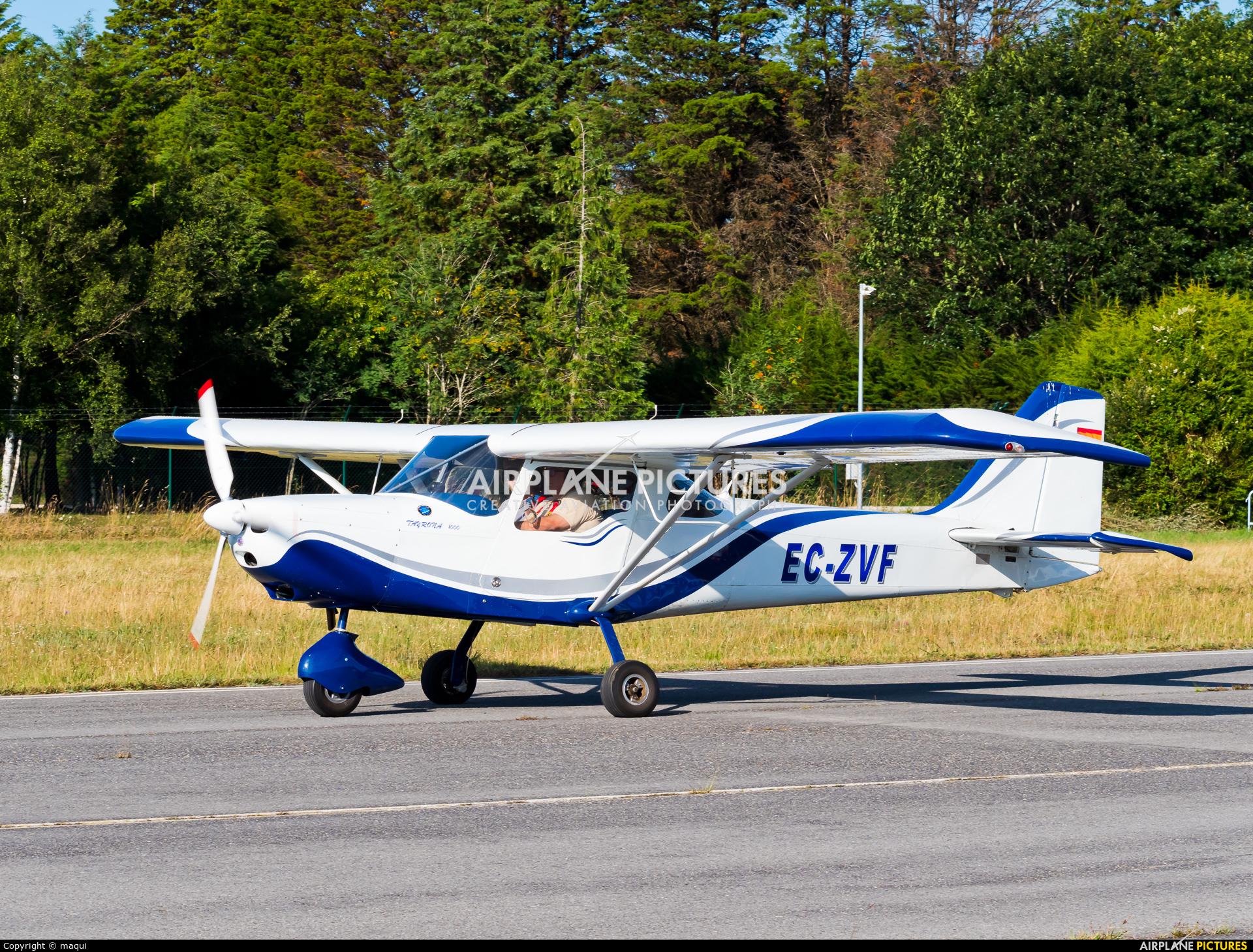 Private EC-ZVF aircraft at Lugo - Rozas