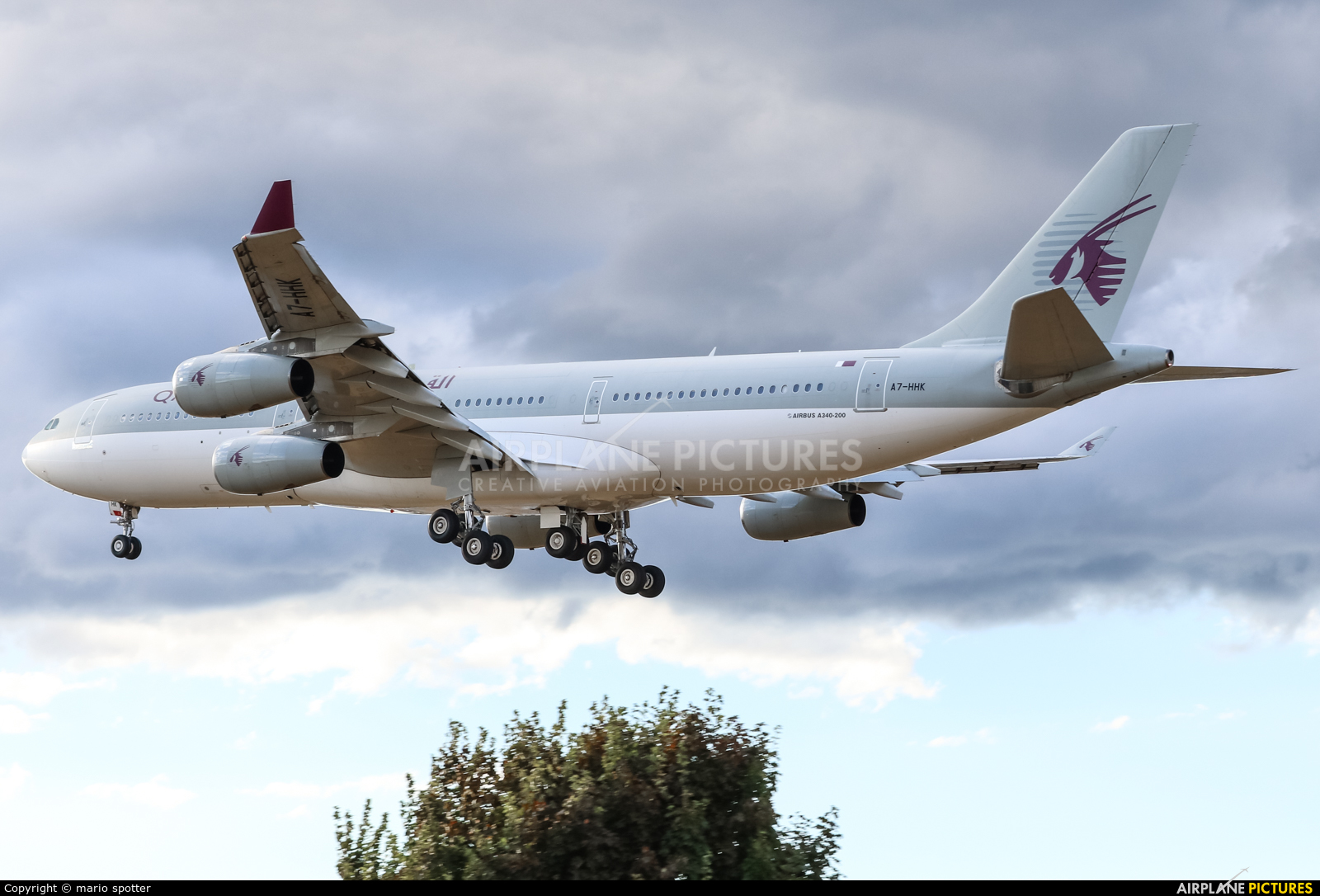 Qatar Amiri Flight A7-HHK aircraft at London - Heathrow