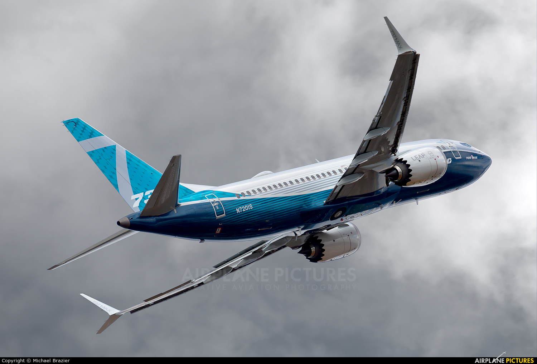 Boeing Company N7201S aircraft at Farnborough