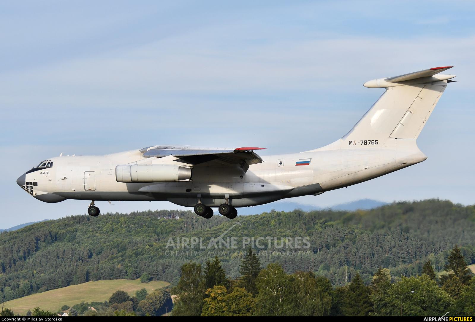 Aviacon Zitotrans RA-78765 aircraft at Sliač