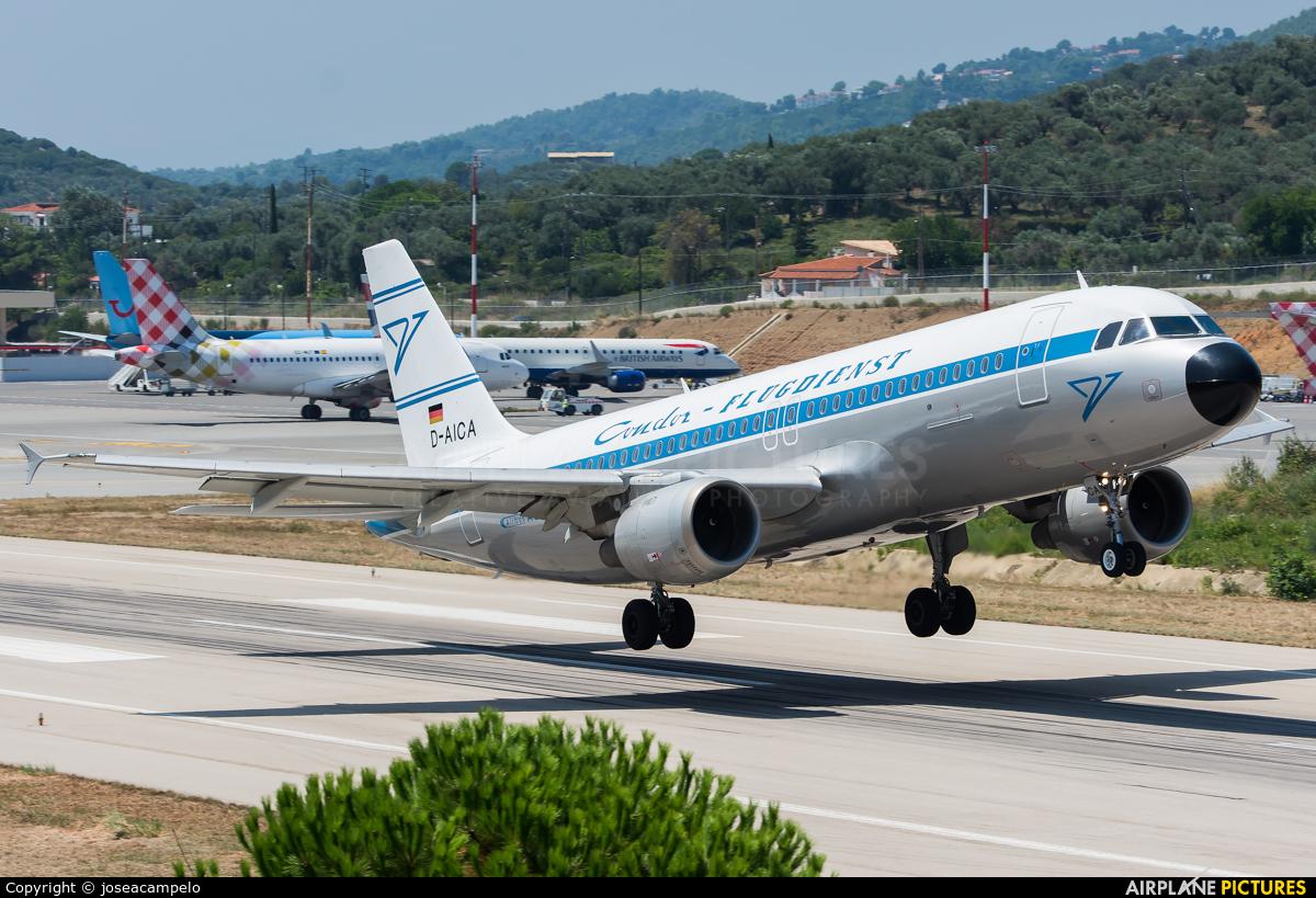 Condor D-AICA aircraft at Skiathos