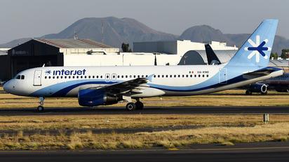 XA-KNO - Interjet Airbus A320