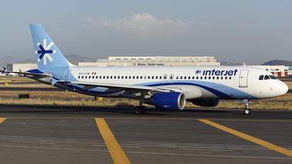 XA-IJA - Interjet Airbus A320