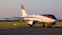 TAG Aviation Airbus A319CJ visited Ostrava title=