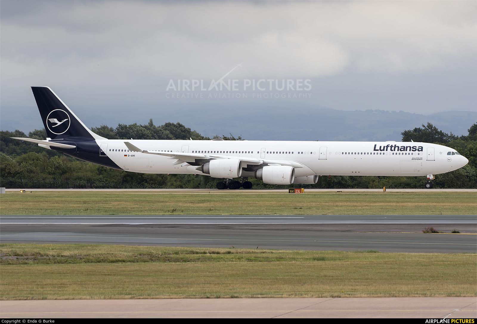 Lufthansa D-AIHI aircraft at Manchester