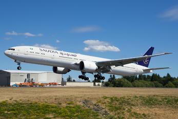 HZ-AK45 - Saudi Arabian Airlines Boeing 777-300ER