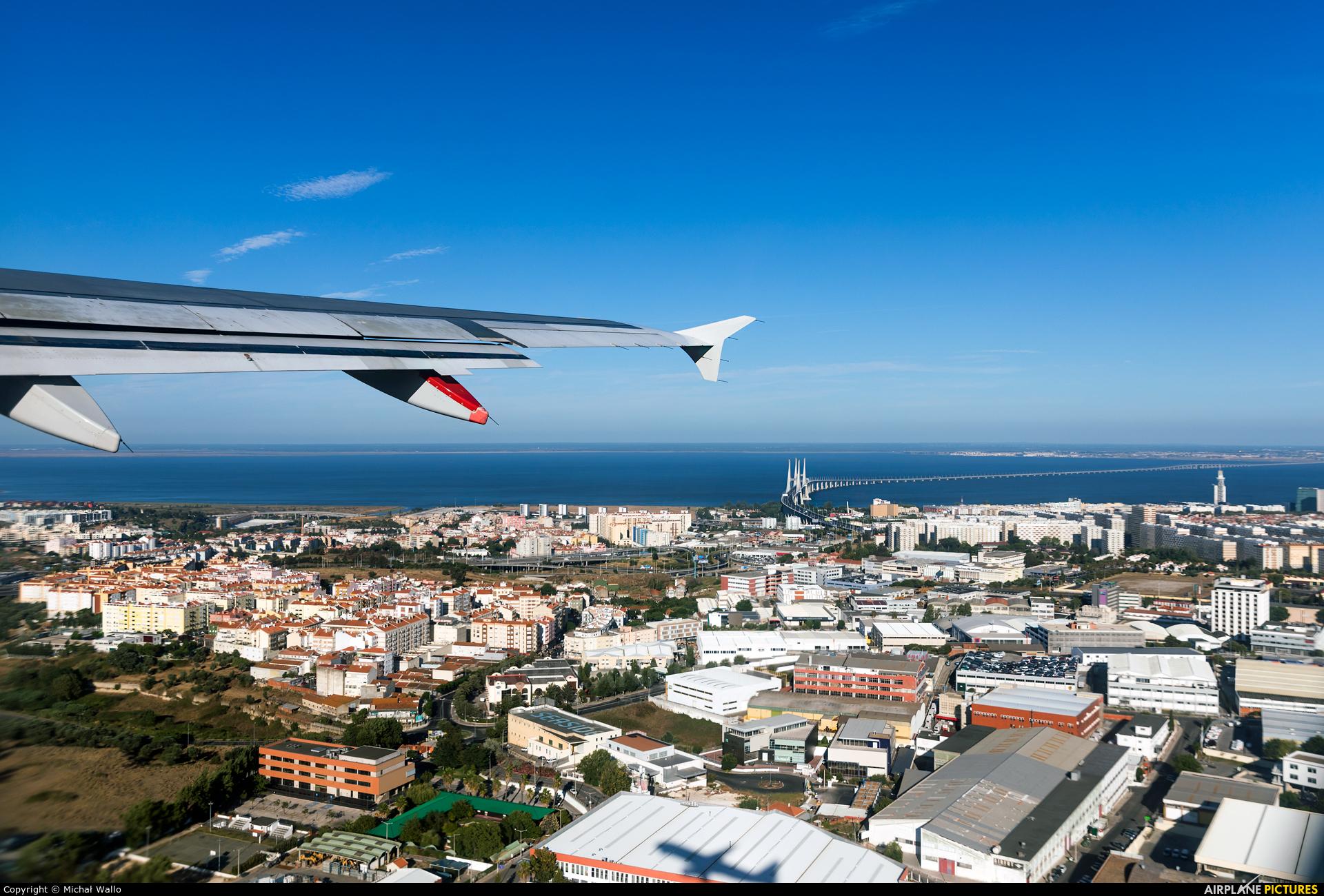 TAP Portugal CS-TNJ aircraft at Lisbon