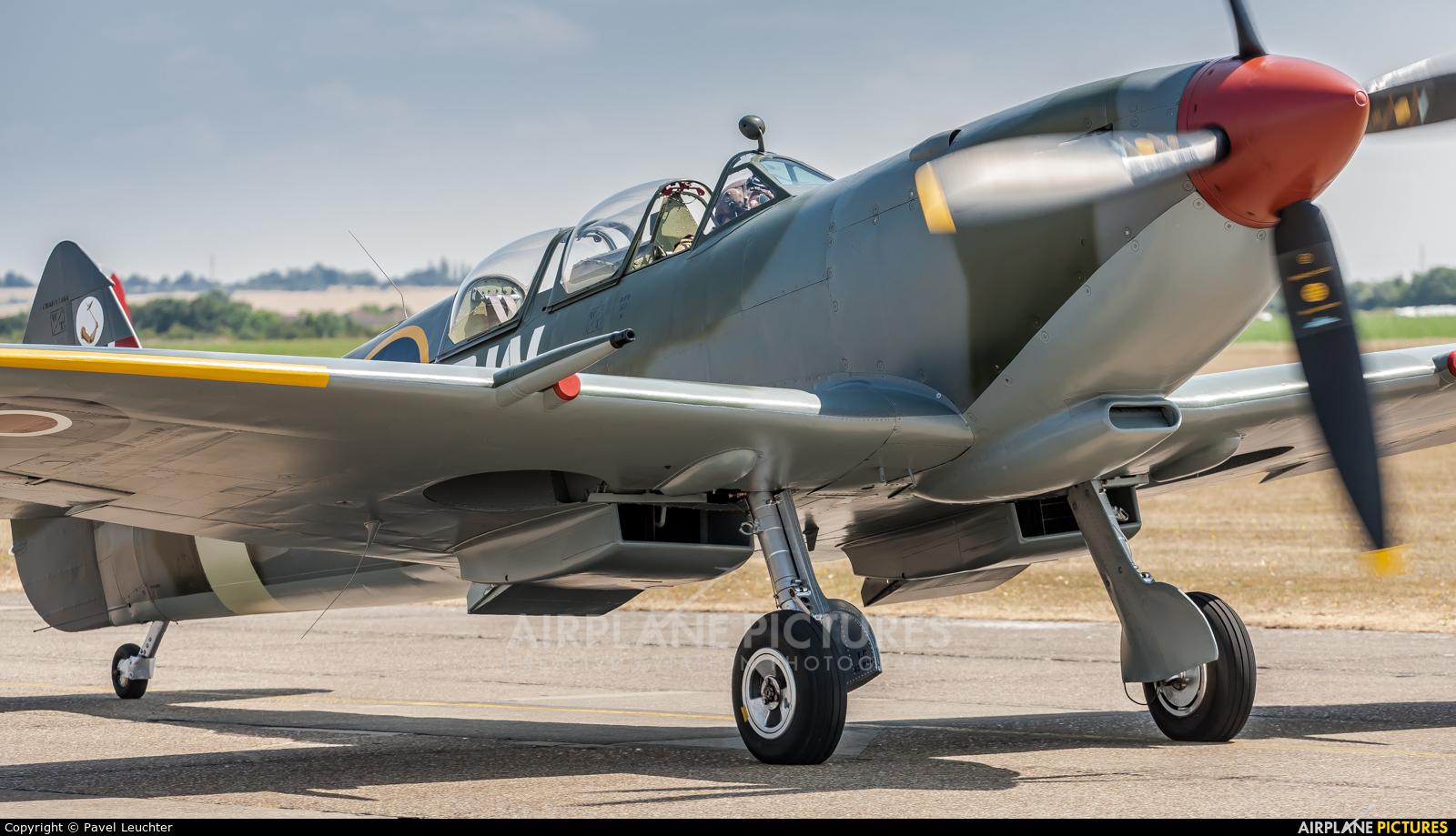 Private G-CTIX aircraft at Duxford