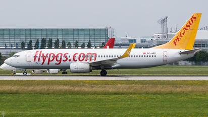 TC-AZP - Pegasus Boeing 737-800