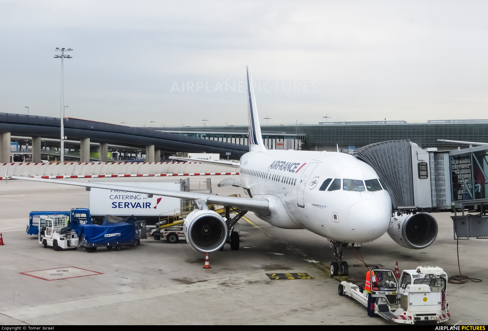Air France F-GUGA aircraft at Paris - Charles de Gaulle