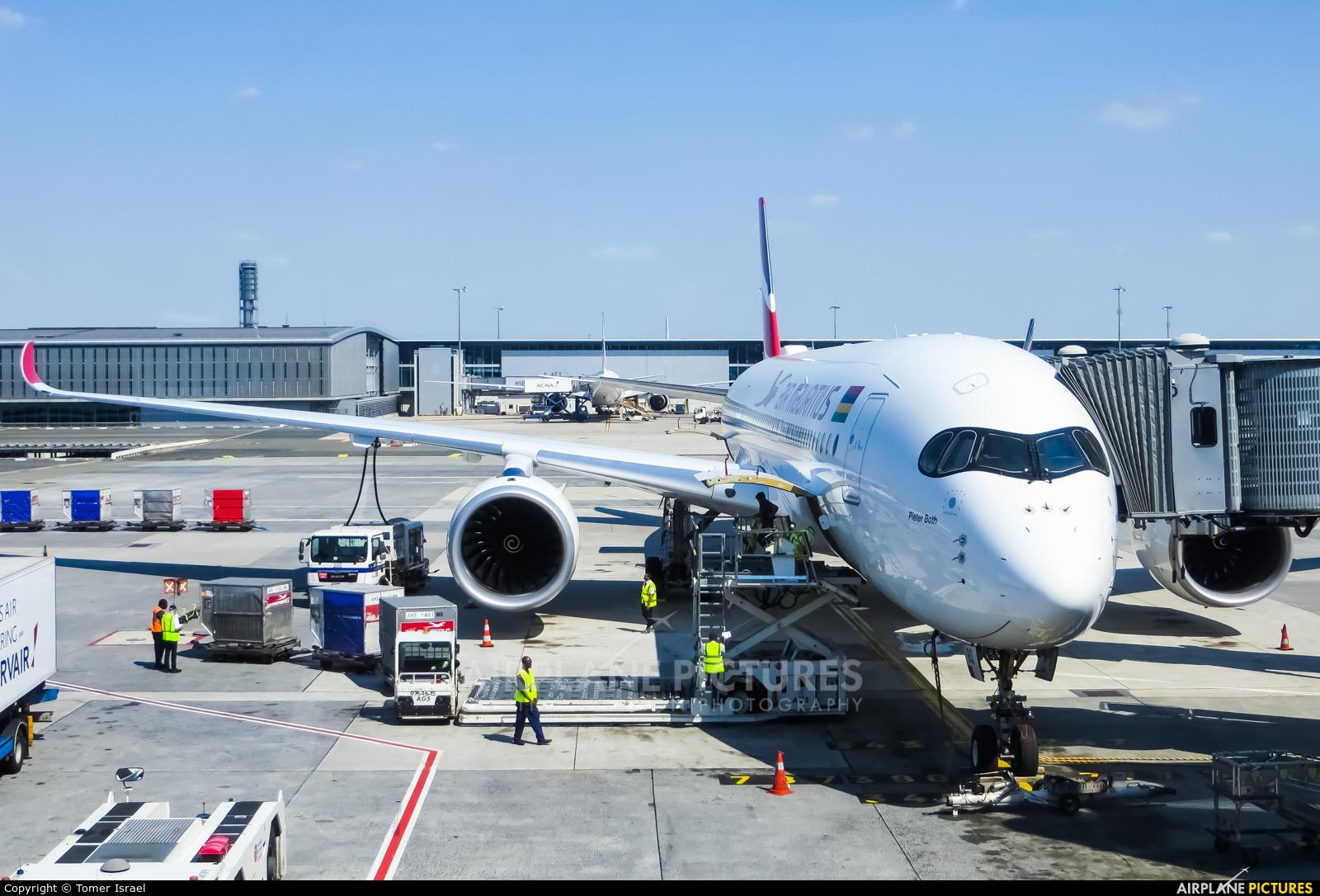 Air Mauritius 3B-NBQ aircraft at Paris - Charles de Gaulle