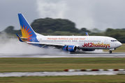 G-JZBE - Jet2 Boeing 737-8MG aircraft