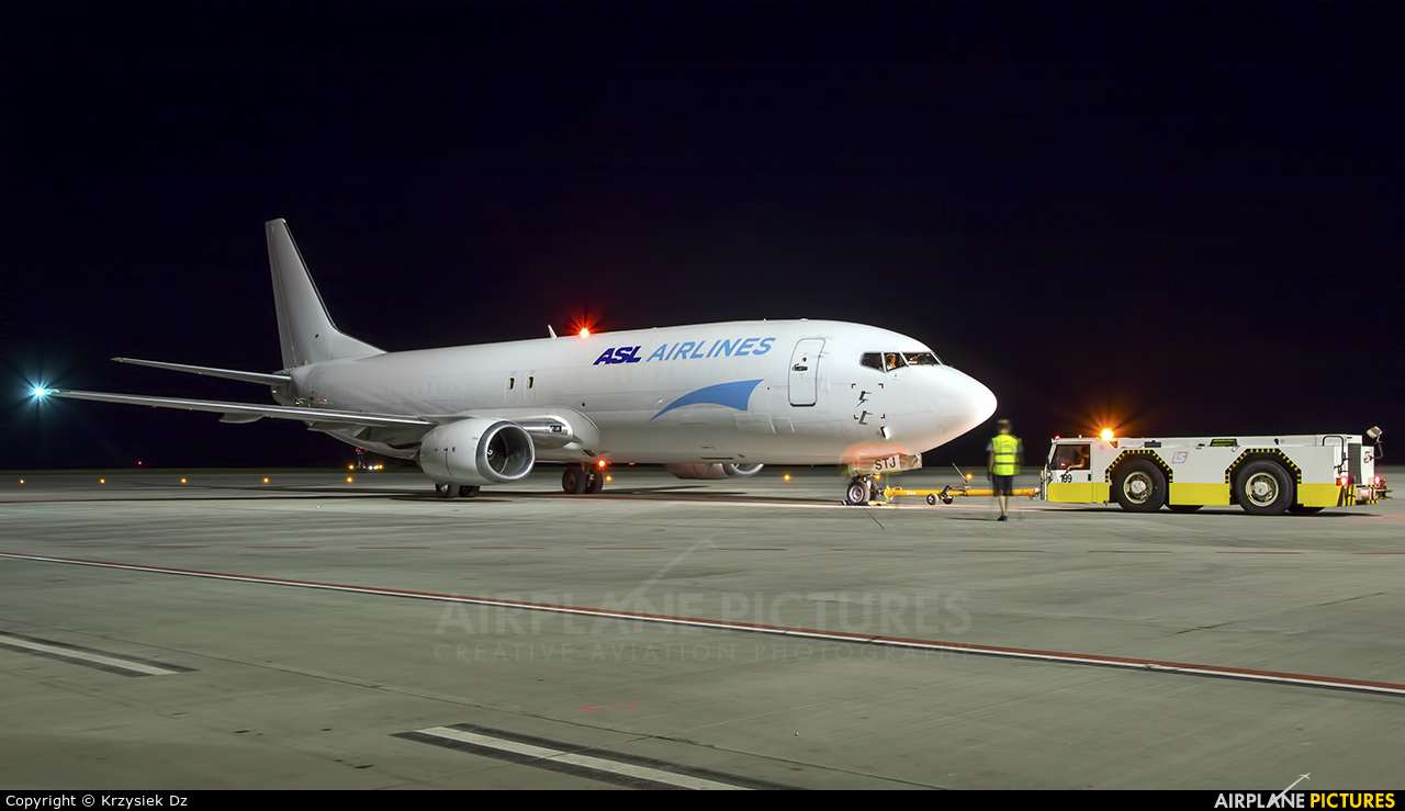 ASL Airlines EI-STJ aircraft at Katowice - Pyrzowice