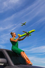 Siberia Airlines - - Aviation Glamour - Model -
