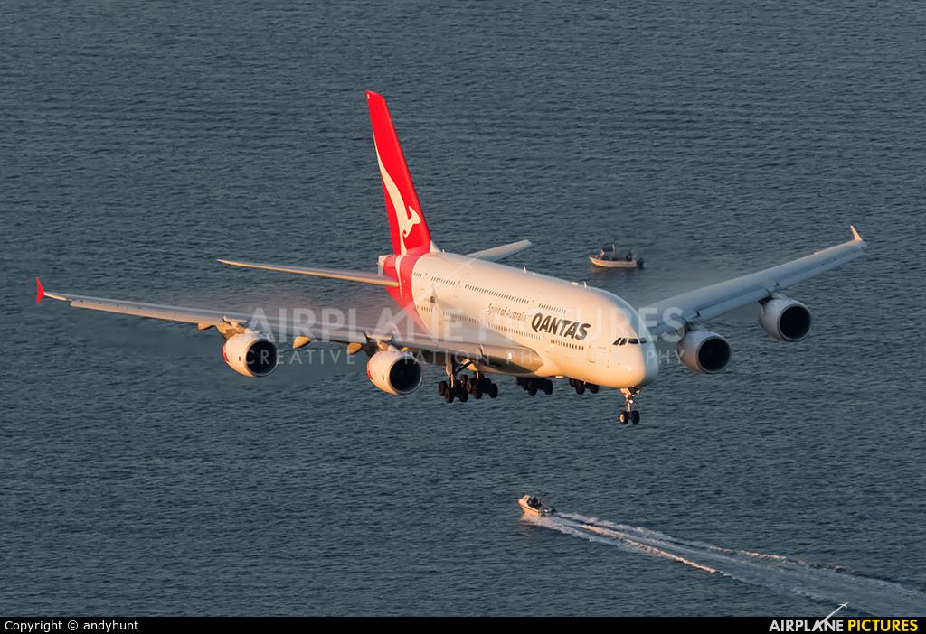 QANTAS VH-OQG aircraft at Sydney - Kingsford Smith Intl, NSW