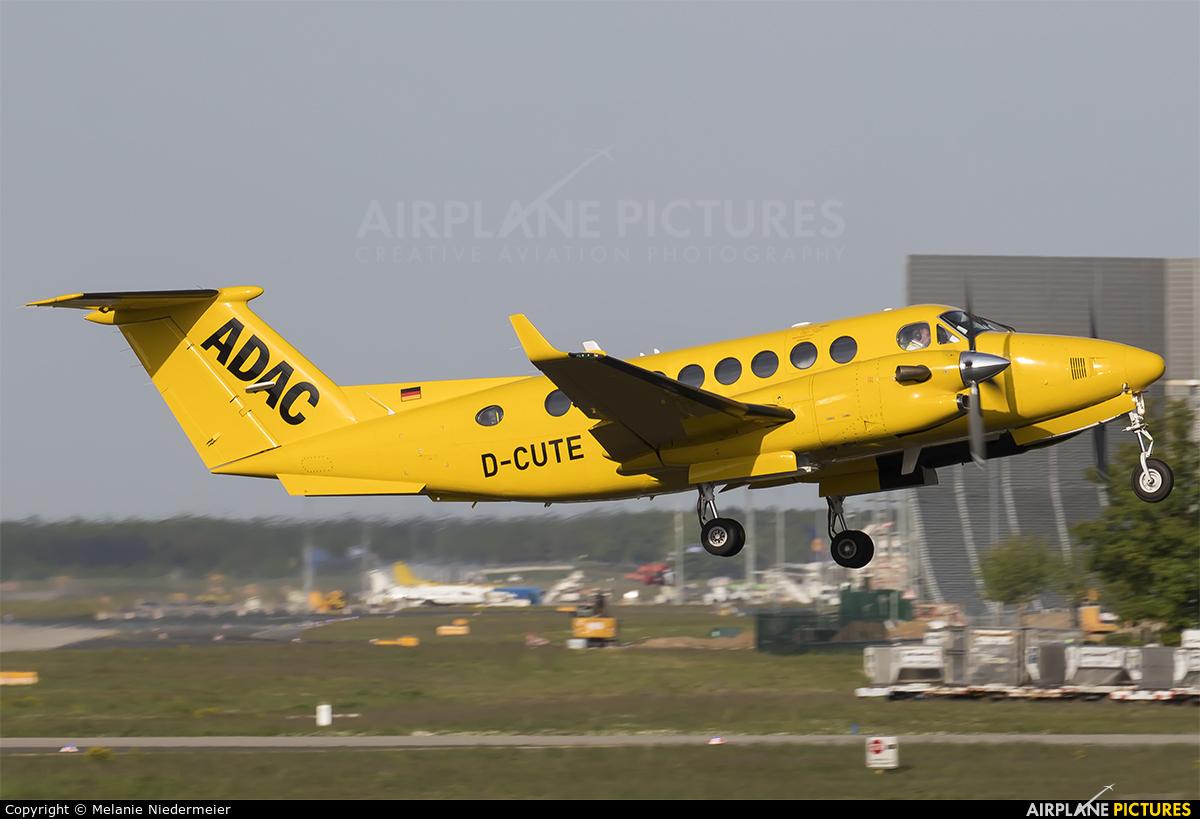 ADAC Luftrettung D-CUTE aircraft at Frankfurt