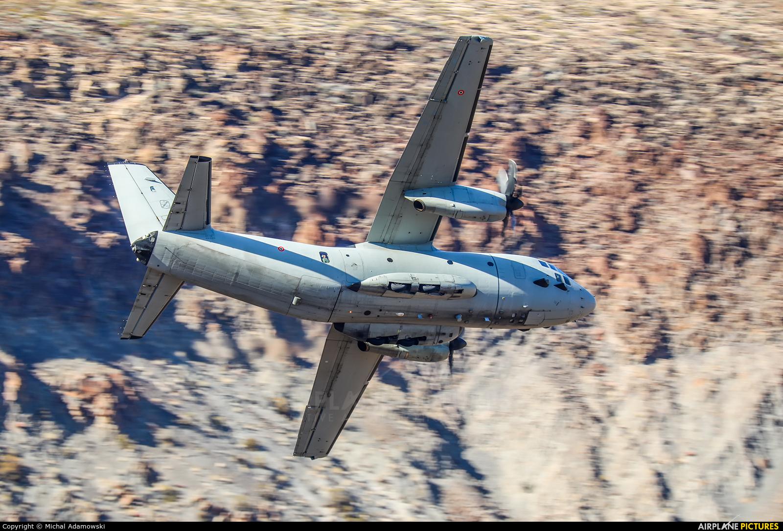 Italy - Air Force MM62223 aircraft at Rainbow Canyon - Off Airport