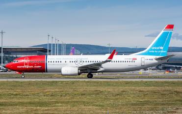 LN-NGE - Norwegian Air Shuttle Boeing 737-800