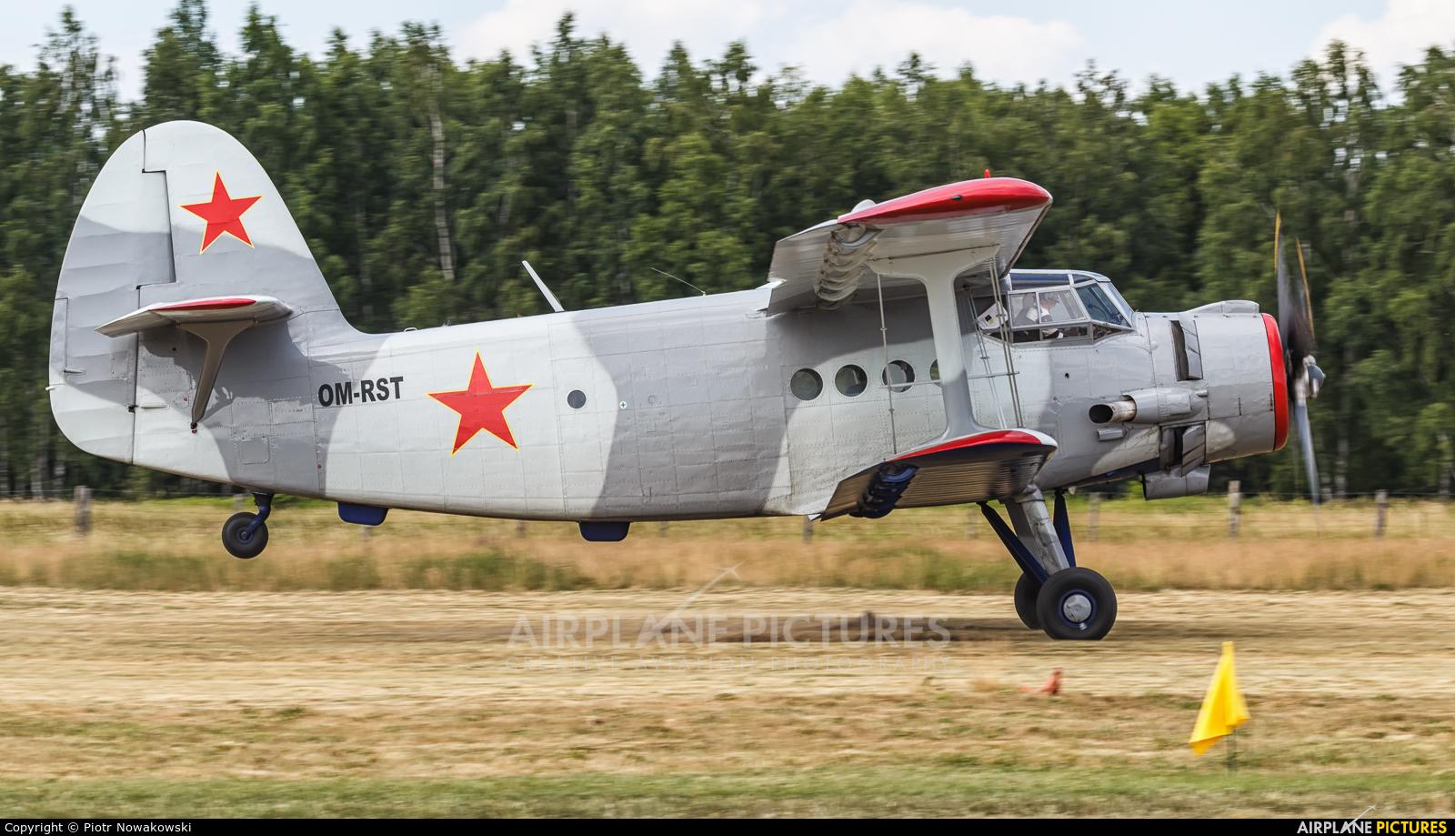 Aeroklub Kosice OM-RST aircraft at Sobienie Królewskie