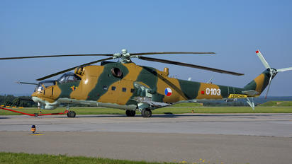 0103 - Czech - Air Force Mil Mi-24D