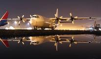 5X-UCF - Unknown Lockheed L-100 Hercules aircraft