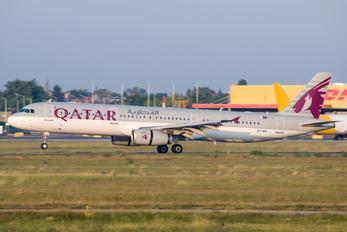 A7-AID - Qatar Airways Airbus A321