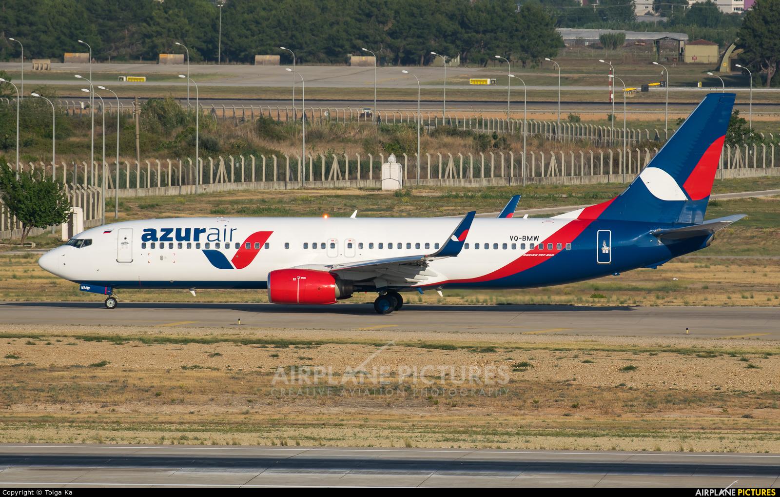 AzurAir VQ-BMW aircraft at Antalya